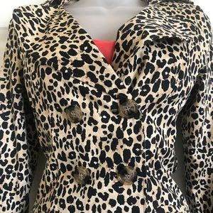 Forever TwentyOne Leopard Jacket